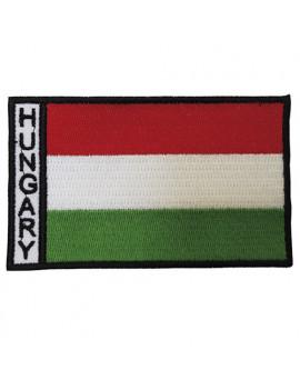 Hímzett zászló nagy 10x6 cm